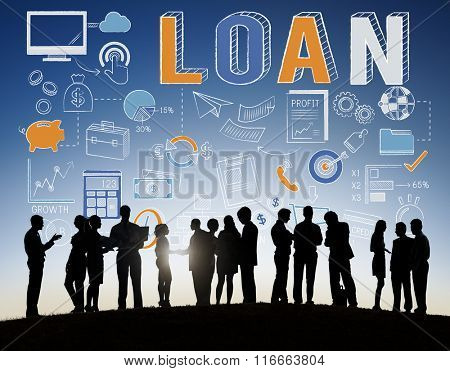 Loan Finance Economy Debt Money Banking Concept