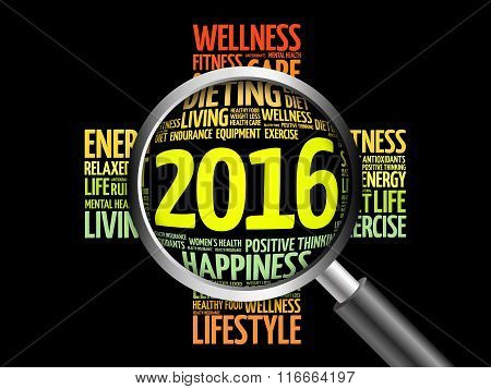 2016 Health Cross Word Cloud