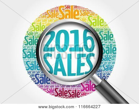 2016 Sales Word Cloud