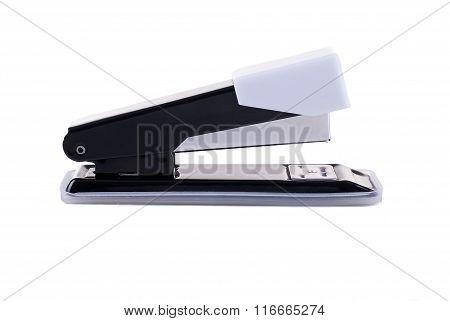 Stapler paper on a white background