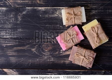 Collection Of Handmade Soap