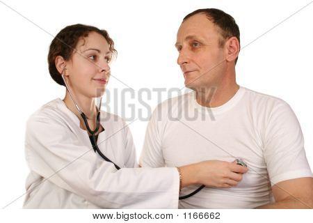 Arzt mit senior