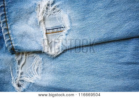 Lack Jeans Texture Background