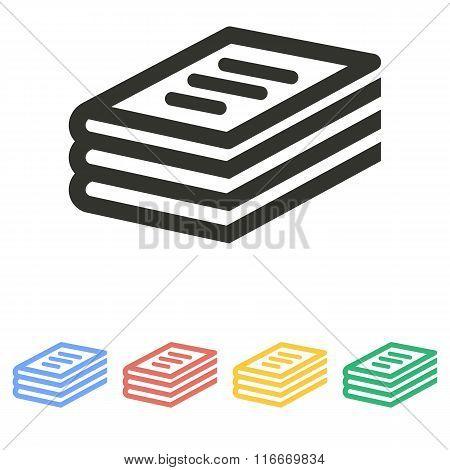 Book - Vector Icon.