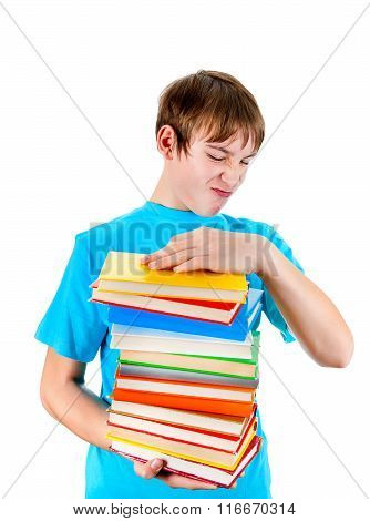Kid With The Books