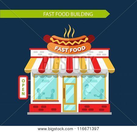 Fast food restauraunt