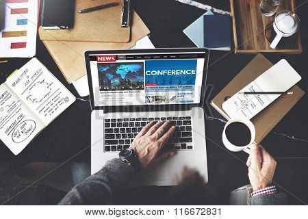Conference Meeting Business Sharing Workshop Training Concept
