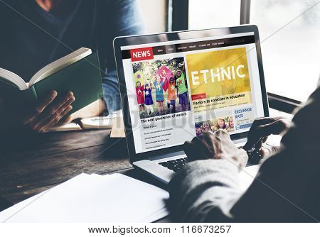 Ethnic Ethnicity Community Cultural Humanity Concept