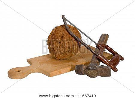 Martillo de sierra para metales de coco