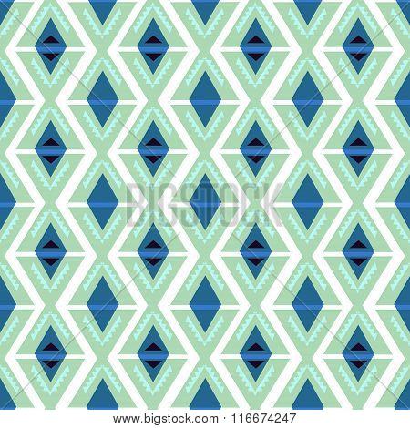 Hipster Chevron seamless pattern background