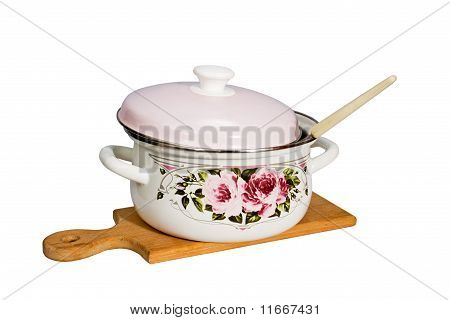 Pan And Kitchen Utensils