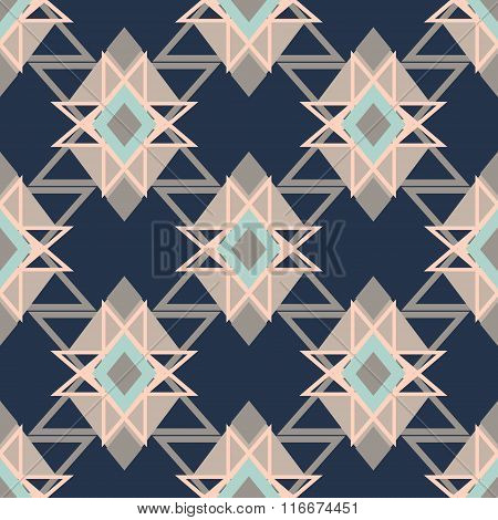 Abstract geometric background pattern in vector.