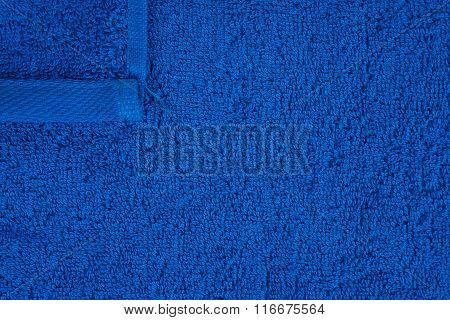 Dark Blue Terry Towel