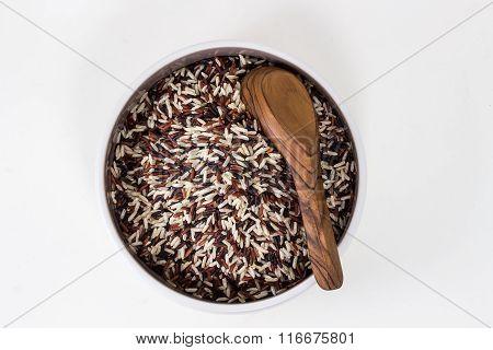 Thai Fragrant Rice In The Bowl