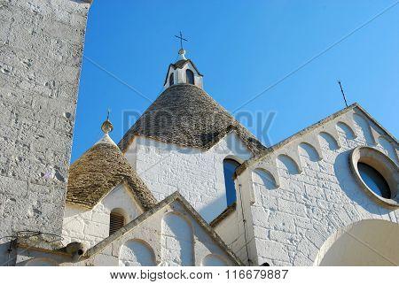 A Trullo Church In Alberobello In Puglia - Italy N 103