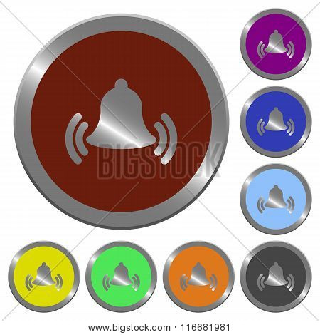 Color Ringing Bell Buttons