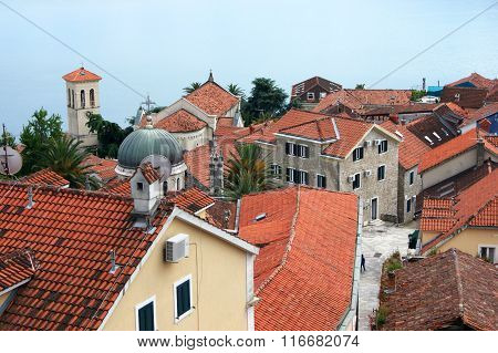 Old town in Herceg Novi