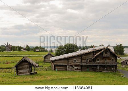 Rural house, Kizhi, Russia.
