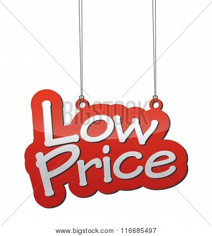 Red Background Low Price