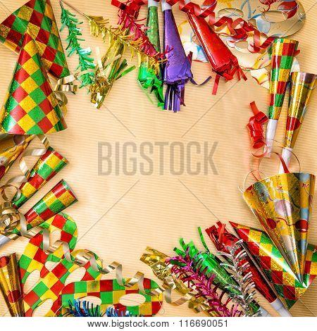 Carnival Decorations. Venetian Mask Festival