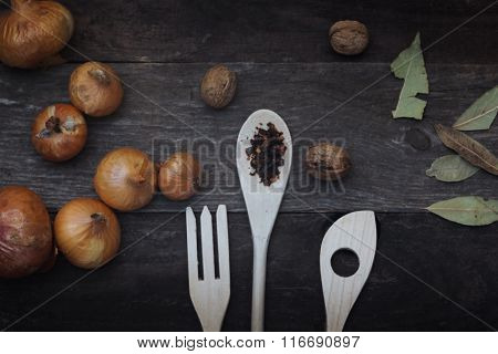 Spices And Cutlery