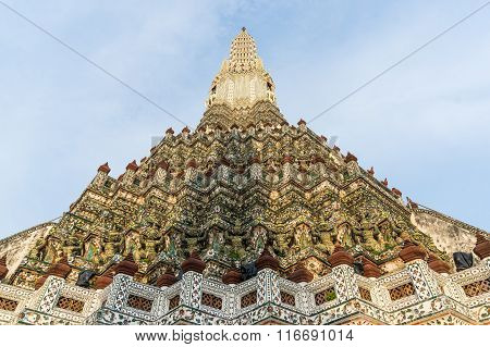 Wat Arun, Temple of Dawn prang, chedi