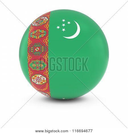 Tajikistani Flag Ball - Flag Of Tajikistan On Isolated Sphere