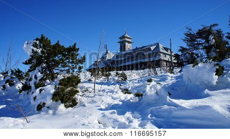 Winter on the Fichtelberg