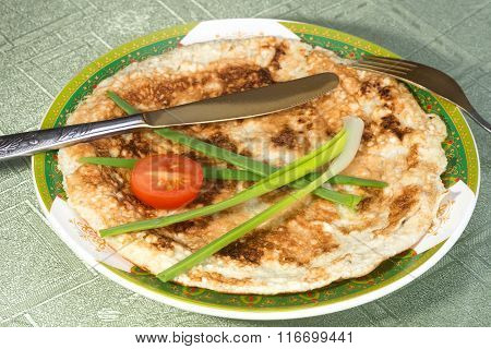 Matzah Brei – Scrambled Eggs With Matzah Pieces