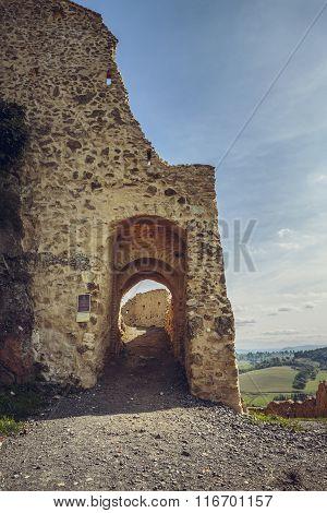 Rupea Citadel Fortified Walls