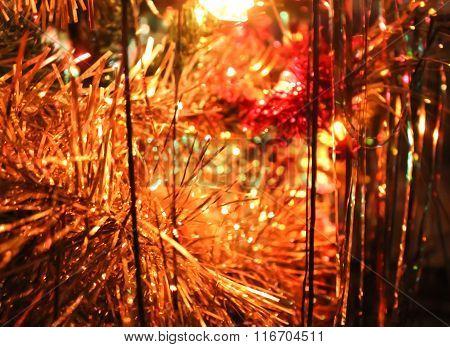 Gloss Of Christmas Decorations.