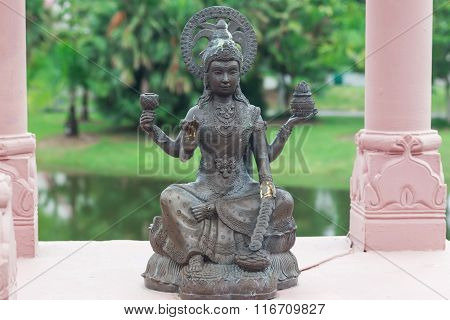 Ancient Hinduism god sculpture