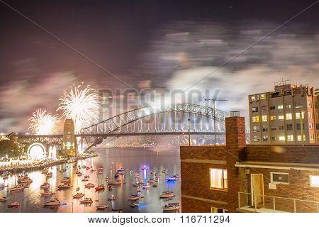 Sydney New Year Eve Fireworks Show