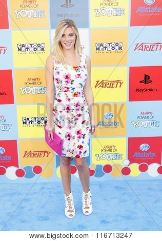 Claire Julien at the Variety's Power Of Youth held at the Paramount Studios in Hollywood, USA on September 15, 2012.