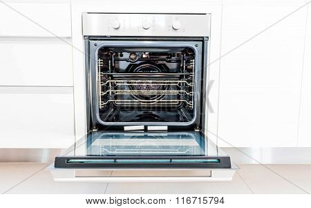 Brand New Oven In Kitchen