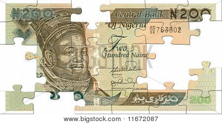 Two Hundred Naira Puzzle