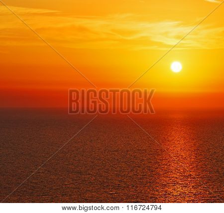 In Santorini    Greece Sunset And The Sky Mediterranean Red Sea