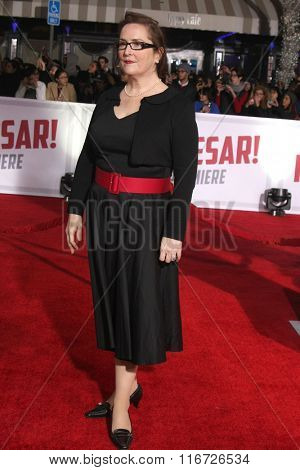 LOS ANGELES - FEB 1:  Jillian Armenante at the Hail, Caesar World Premiere at the Village Theater on February 1, 2016 in Westwood, CA