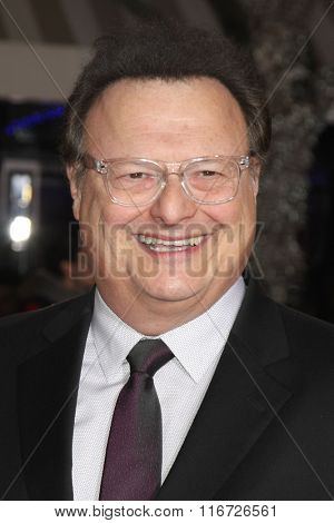 LOS ANGELES - FEB 1:  Wayne Knight at the Hail, Caesar World Premiere at the Village Theater on February 1, 2016 in Westwood, CA