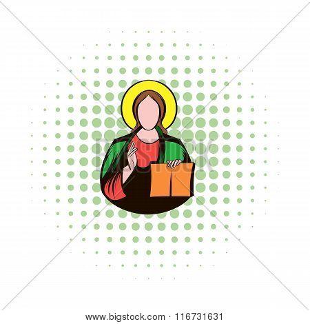 Jesus Christ comics icon