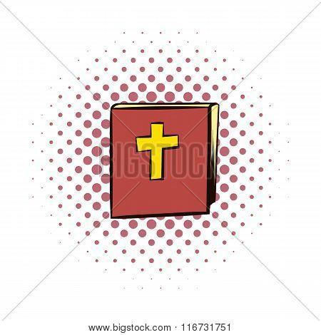 Bible comics icon