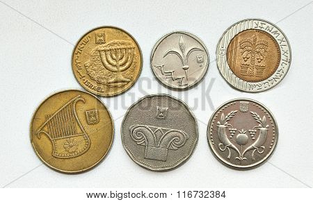 Small Metal Coins.