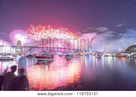 Sydney New Year Eve Fireworks Show