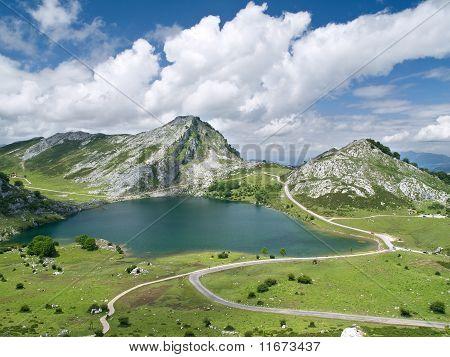 Covadonga Lakes, Spain