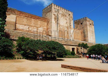 Cistern Court, Alhambra Palace, Granada.