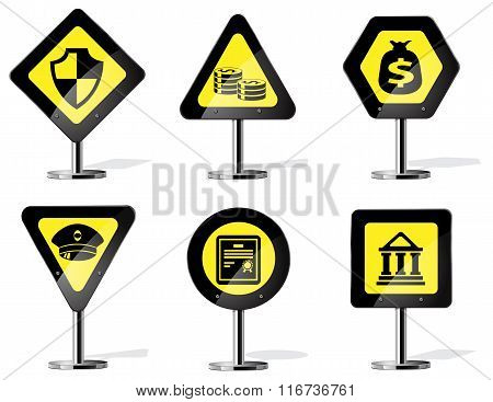 Road Sign Icons