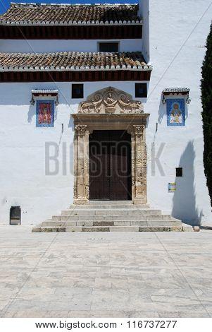 San Miguel Church entrance, Granada.