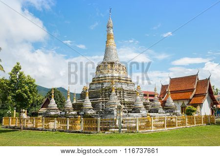 Wat Luang,at Pai In Mae Hong Son Thailand,