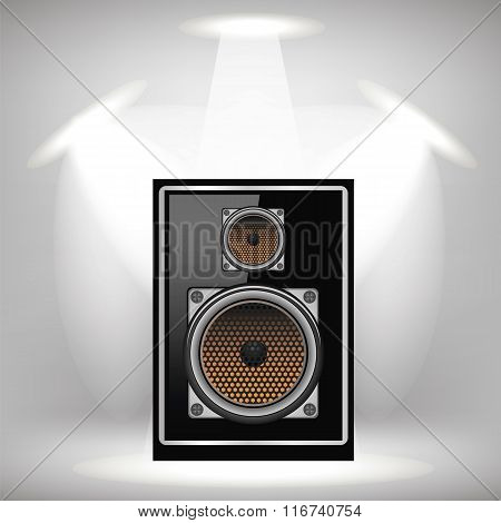Musical Speaker Icon