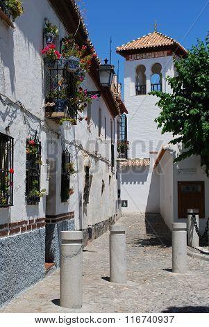 Spanish street, Granada.